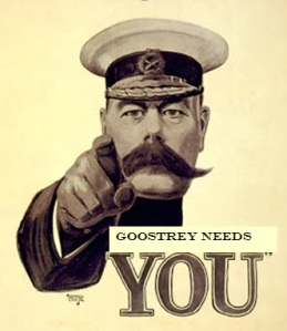 Goostrey needs you