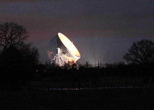 Jodrell gets ready