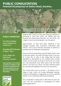Public exhibition of housing on The Grange fields