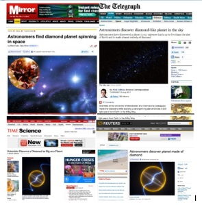 JBO screen-grabs on pulsars