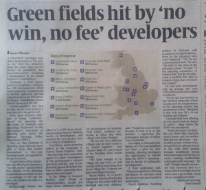 Sunday Times 30 Nov 2014