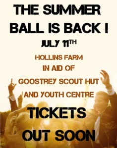 11th July Scouts' Ball