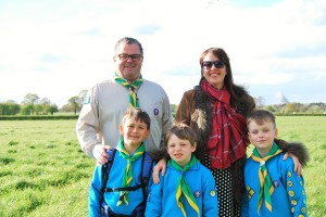 RoseDay raffle supports Scout hut