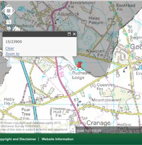land by NewPlatt and Goostrey Lanes, Cranage