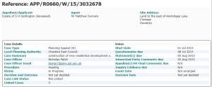 Netherlea appeal details
