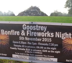 Thursday 5th: Bonfire 7pm