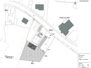 Scout Hut & Youth Centre surround plan