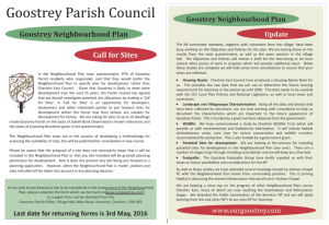 Call for Sites to 3rd May 2016