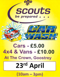 in aid of the new Scout Hut