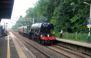 Flying Scotsman at Goostrey