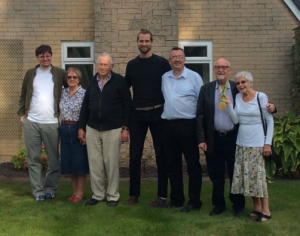 Goostrey's Bennett family celebrate Gold