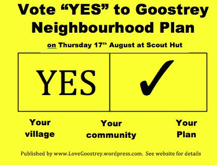 Yes vote yellow tick