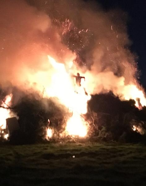 Brilliant bonfire by Deborah Goldsmith