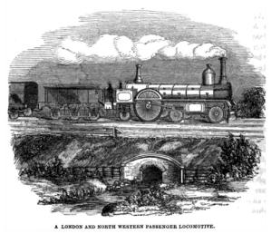 London & North western locomotive 1852