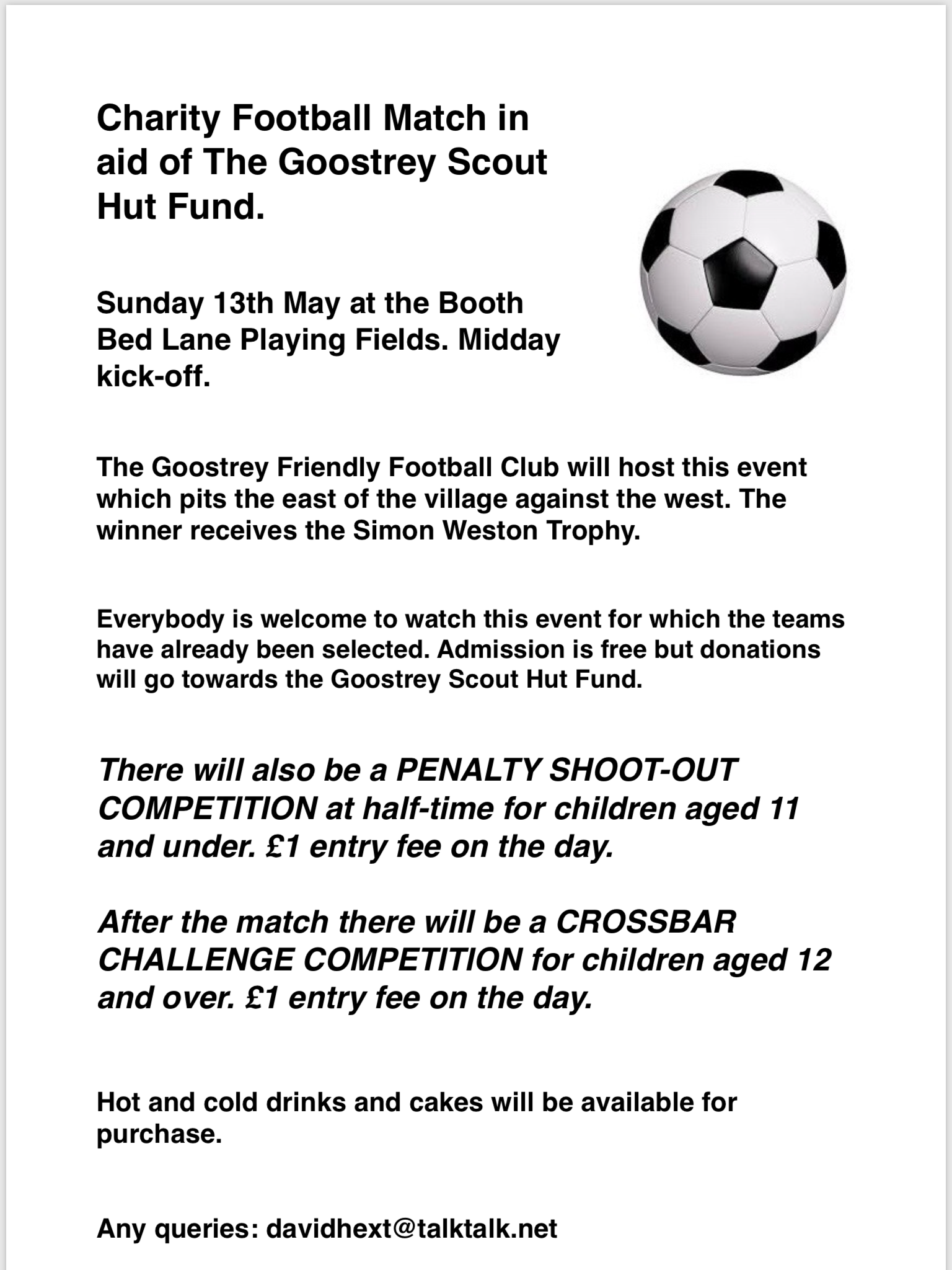 Scouts football May 2018