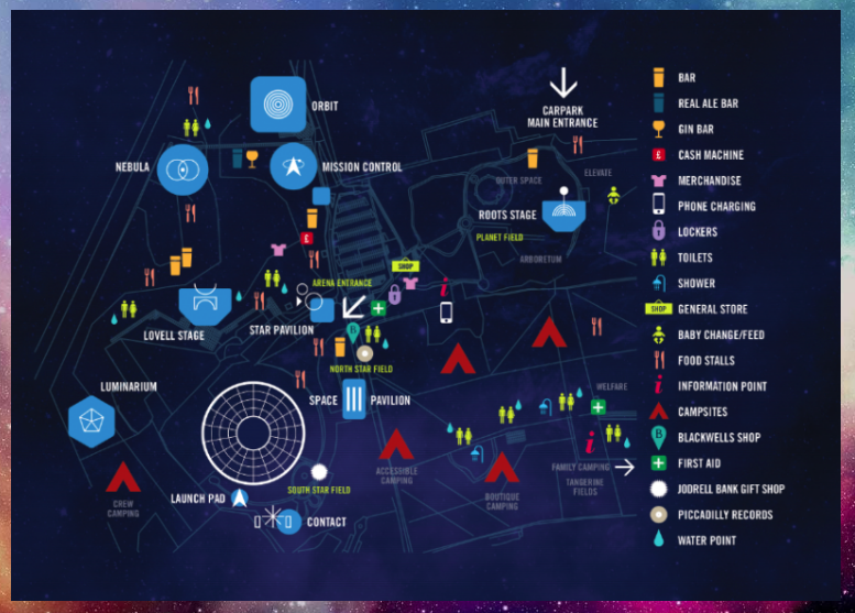 Bluedot map