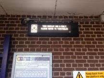 train times