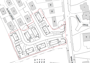 plan of proposed park homes